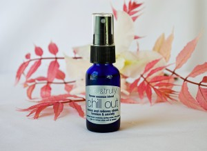 Chill Out Flower Essence Blend settle soothe and ease tension