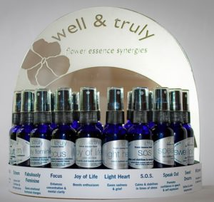 well & truly flower essence blend display